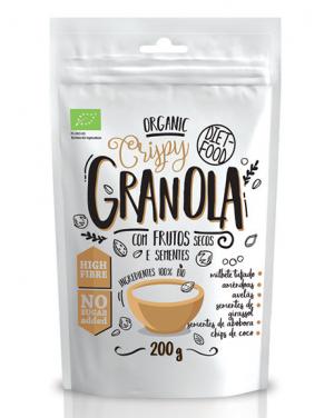 Granola Bio com Nozes