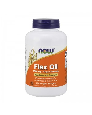 Flax Oil Organic 1000 mg