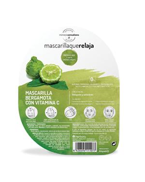 Mimesis Sensations Máscara de Bergamota e Vitamina C