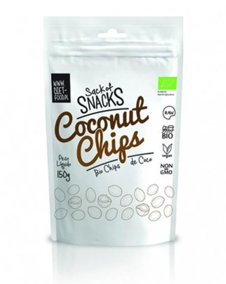 Bio chips de coco - bio coconut chips