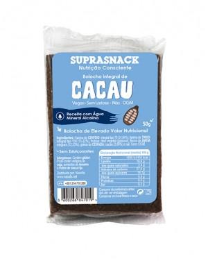 Bolachas Integrais de Cacau