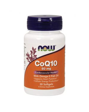 CoQ10 with Omega-3 Fish Oil