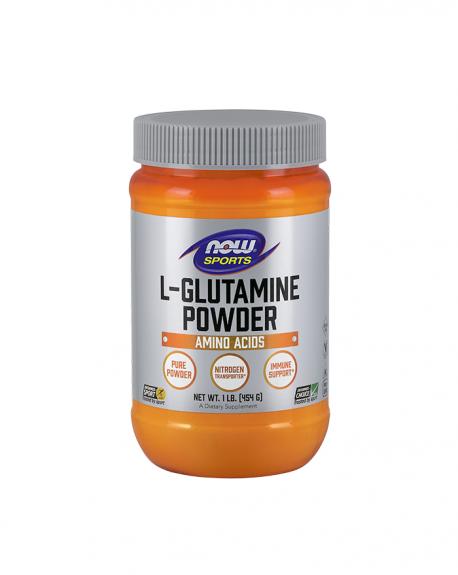 L- glutamina em pó (glutamine powder free form vegetarian)