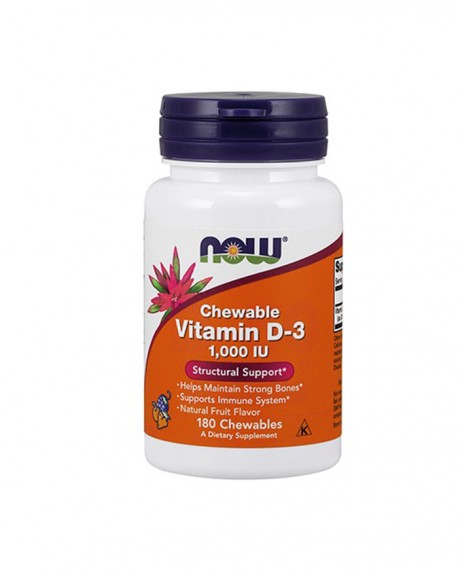 Vitamin D-3 1000 IU, Fruity Flavor