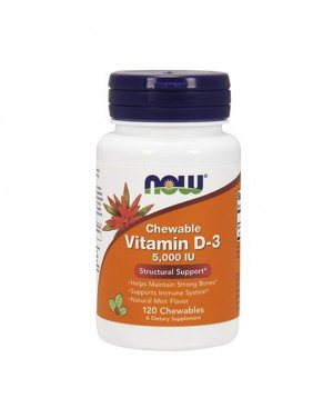 Vitamin D-3 5000 IU, Mint Flavor