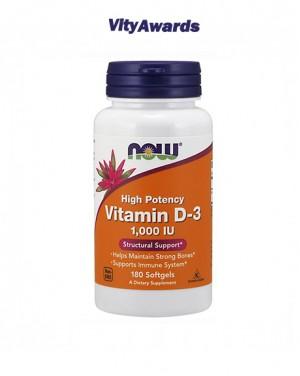 Vitamin D-3 1,000 u.i.