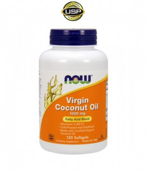 Virgin coconut oil (óleo de coco virgem)