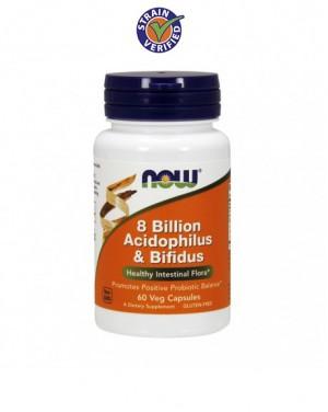Acidophilus/bifidus  - 8 bilioes