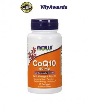 CoQ10 60 mg w/ Omega 3