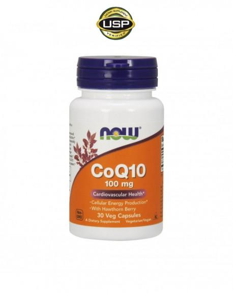 Co-enzyme Q10 (com bagas de espinheiro alvar)