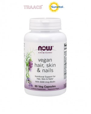 Hair, Skin & Nails, Vegan