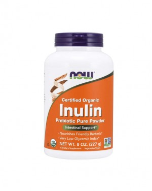 Inulin Prebiotic Pure Powder, Organic