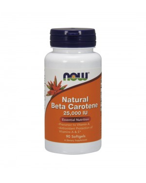 Beta carotene (natural)  25,000 u.i.