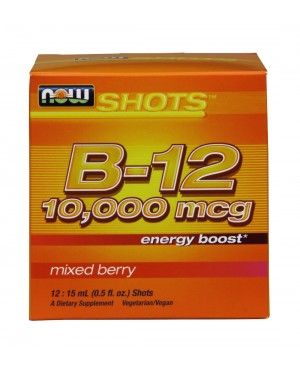 Vitamin B-12 energy shots 10,000 mcg
