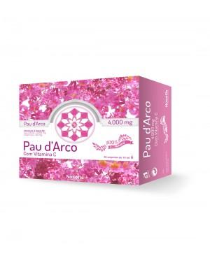 Pau d'Arco (4000 mg) + Vitamina C (80 mg)