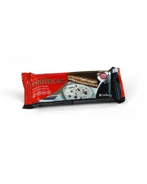 Barritas: chocolate negro com stracciatella ( choc+nata)