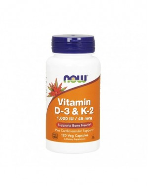 Vitamina d-3 1000 u.i. + vitamin k2 (45 mcg) + vit c