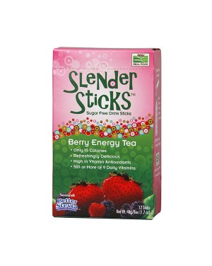 Bebida sem açúcar / Slender sticks: Berry energy