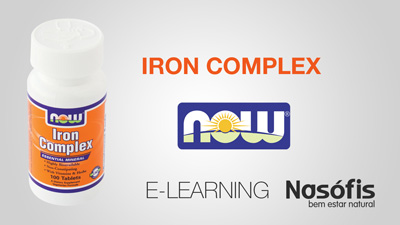 E-Learning Iron Complex Now Foods Nasofis