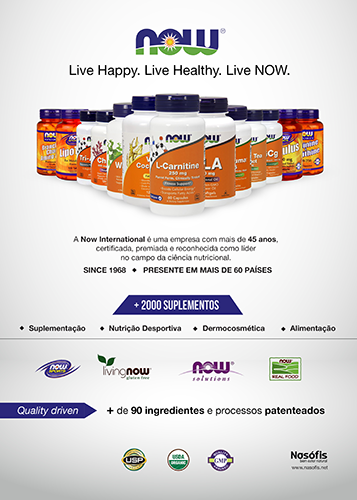 Panfleto Now Foods Corporate