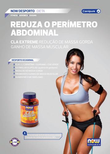 Panfleto CLA Extreme Now Foods Nasofis
