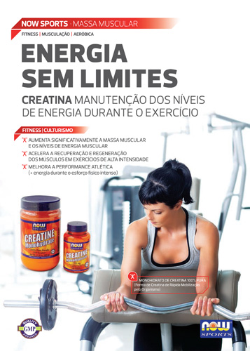 Panfleto Creatine Now Foods Nasofis