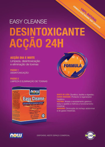 Panfleto Easy Cleanse Now Foods Nasofis