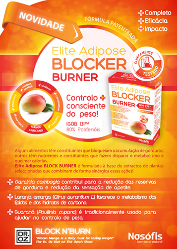 Panfleto Elite Adipose Blocker Burner Nasofis