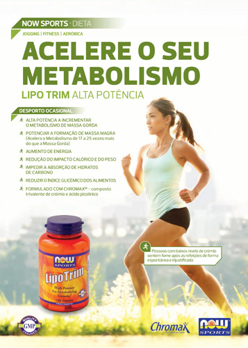 Panfleto Lipo Trim Now Foods Nasofis