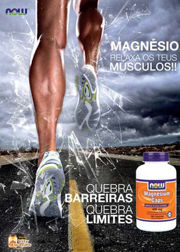 Panfleto Magnesium Now Foods Nasófis