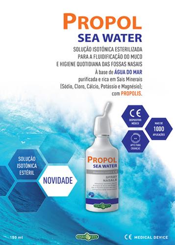 Panfleto Propol Sea Water Erba Vita Nasofis