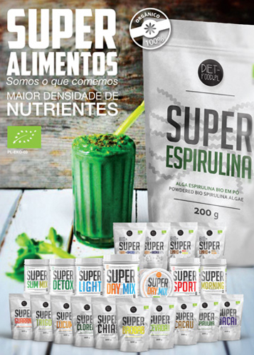 Panfleto Super Alimentos Diet Food Nasofis